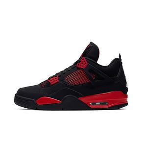 """预售!Air Jordan 4 """"Red Thunder""""黑红雷电篮球鞋 CT8527-016(2021.10.2发售)"""
