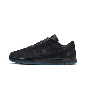 """Undefeated x Nike Dunk Low """"5 On It"""" 纯黑色板鞋 DO9329-001"""