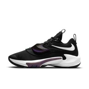 Nike Zoom Freak 3字母哥黑紫缓震实战蓝球鞋 DA0695-001
