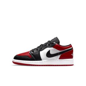 Air Jordan 1 Low (GS) 黑红脚趾 低帮篮球鞋 553560-612