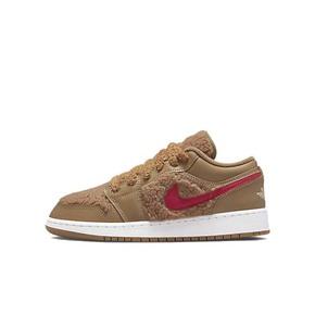 Air Jordan 1 Low AJ1土黄色 泰迪熊复古球鞋 DO2233-264