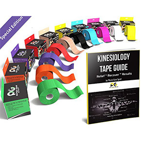 "Physix Gear Sport Kinesiology Tape 2"" x 16.5' Pro肌内效贴布(5cm*500cm)"