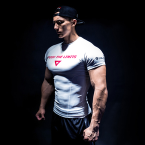 Monster Guardians MG终极科技系列温变科技健身短袖压缩衣紧身衣 (21)251630 A03002