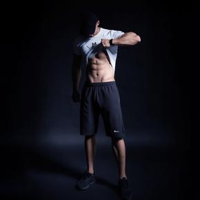 Monster Guardians ULTIMATE TECH 终极科技系列男子梭织薄款运动短裤 (21)251730 A93004