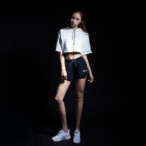 Monster Guardians ULTIMATE TECH 终极科技系列女子运动健身黑色梭织短裤(21)251730 B93002