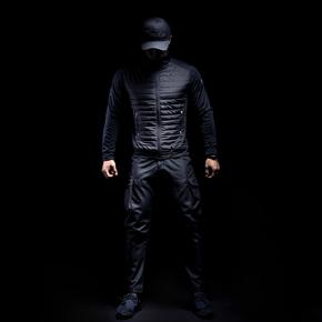 Monster Guardians 运动外套男冬季户外跑步健身轻质御寒薄款棉服(21)25176A A08005
