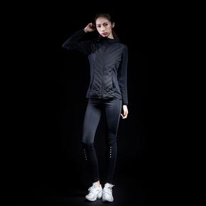Monster Guardians 女子秋冬运动外套跑步健身轻质御寒薄款棉服(21)25176A B08002