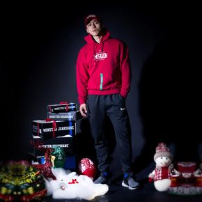 Monster Guardians 男子健身套头圣诞限定运动卫衣| 2018圣诞臻礼(21)251870 A08015