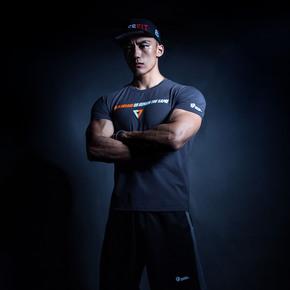 Monster Guardians 男子运动健身短袖潮流印花T恤 | (21)251680 A04004