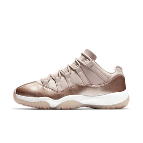 Air Jordan 11 Low Rose Gold AJ11玫瑰金女款 AH7860-105(4月13日发售)