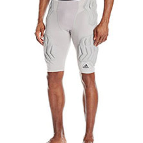 Adidas Mens basketball padded Techfit Short防撞打底裤
