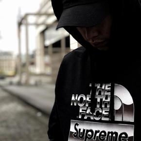 Supreme x TNF 18春夏联名卫衣