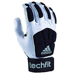 Adidas阿迪达斯techfit lineman成人足球守门员手套