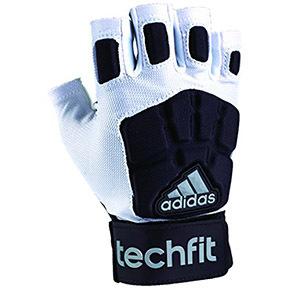 Adidas阿迪达斯techfit lineman half finger守门员半指手套