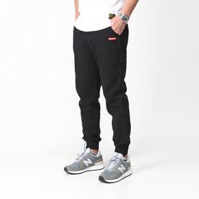 买一赠一!GZKHCOM 简约街头潮流 经典慢跑刺绣收口 休闲工装束脚裤 A96001