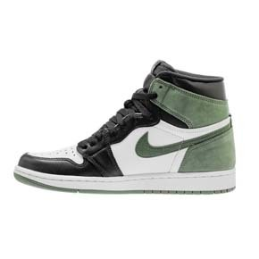 "Air Jordan 1 Retro High OG ""Clay Green"" 黑绿脚趾 555088-135"