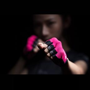 特价!Monster Guardians Lab 女子哑铃护掌支撑防滑半指综合训练手套SP-C10001