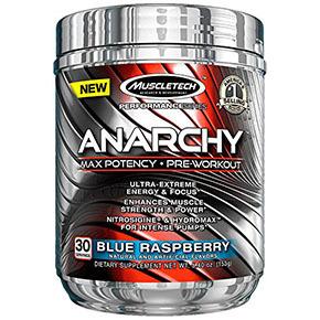 强壮!肌肉科技MuscleTech Anarchy 白金氮泵增肌粉152g