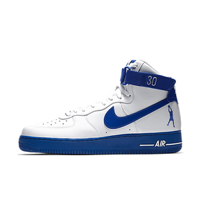 Nike Air Force 1 AF1白蓝 怒吼天尊 华莱士 AQ4229-100