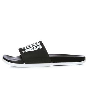 ADIDAS ADILETTE男女黑白字母经典运动休闲沙滩拖鞋 BY2615
