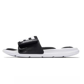 Adidas Superstar 5G 男夏季潮流魔术贴黑白休闲沙滩拖鞋 AC8325