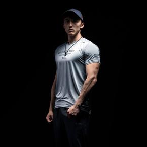 Monster Guardians 终极科技系列夏季男速干健身T恤跑步运动短袖(21)251830 A04008