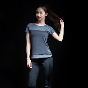 Monster Guardians 终极科技女子夏轻薄修身速干运动短袖健身T恤(21)251830 B03005