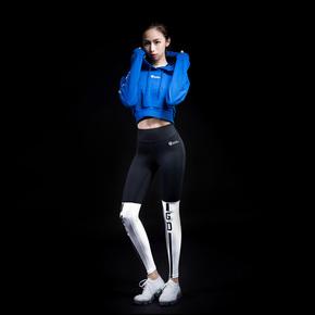 Ultimate Tech 系列 终极科技系列女子黑白拼接紧身裤(21)251830 B98014