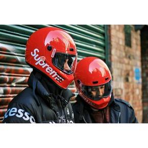 Supreme simpson street bandit helmet 机车摩托车头盔帽