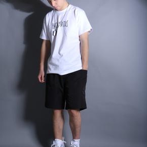 SmallTown(PENC)夏季原创日系印花休闲裤 工装短裤男