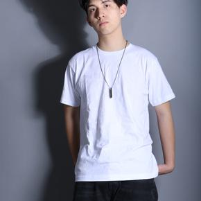 SmallTown(PENC)夏季纯棉纯色圆领短袖t恤