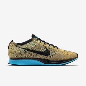 Nike Flyknit Racer 彩虹配色 526628-800
