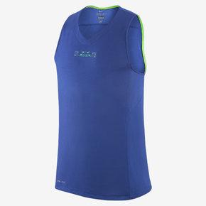 Nike LeBron 速干篮球运动背心 蓝绿色 646113-480