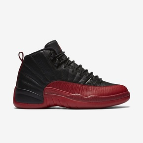 "Air Jordan 12 ""Flu Game 黑红"" 130690-002"