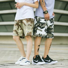 ILLUSIONIST 18SS 沙漠/雪地迷彩工装短裤
