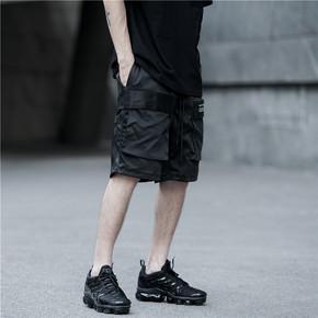 限时特价!CATSSTAC 18SS 多功能双立体口袋短裤