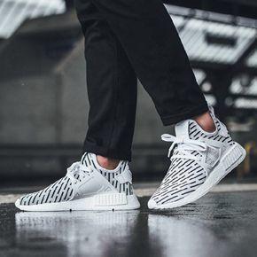 Adidas NMD XR1 PK 斑马条纹 潮流跑步鞋 BB2911
