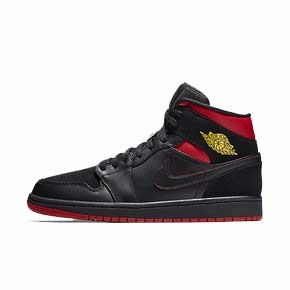 "预售!Air Jordan 1 Mid ""Last Shot"" 黑红 554724-076(2018.5.14发售)"