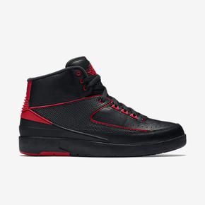 """年货提前抢!Air Jordan 2 """"Alternate"""" 黑红 834274-001"""