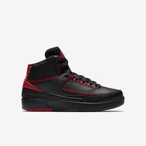 """年货提前抢!Air Jordan 2 GS """"Alternate""""黑红配色 834276-001"""