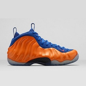 "Foamposite One ""Knicks"" 314996-801"