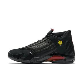 Air Jordan 14 AJ14 黑红 最后一投 篮球鞋