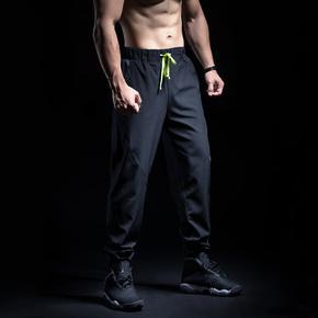 Monster Guardians 男子荧光抽绳梭织长裤 A98009