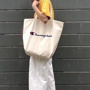 CHAMPION TOTE BAG 大C帆布托特包 CP014
