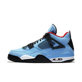 预售!Air Jordan 4 x Travis Scott AJ4蓝麂皮联名 308497-406