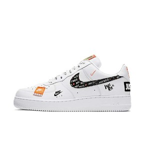 Nike Air Force 1 Just Do It AF1 联名空军 纯白AR7719-100(2018.6.28发售)