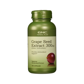 GNC Herbal Plus Grape Seed Extract 300 mg, 100 Count