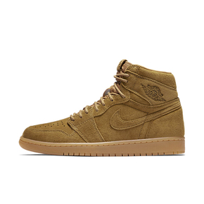Air Jordan 1 High Wheat 小麦 高帮 麂皮 555088-710