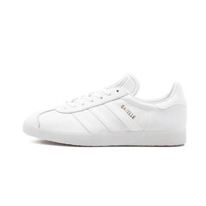 Adidas gazelle 纯白金标 BB5498