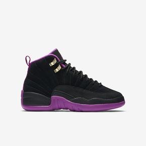 Air Jordan 12 GS 黑紫 510815-018